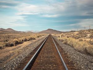 Train Tracks in the Desert. by harpazo_hope