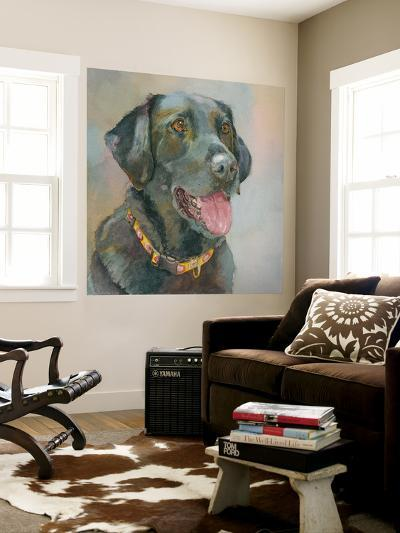 Harper Black Lab-Edie Fagan-Wall Mural