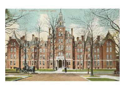 Harper Hospital, Detroit, Michigan--Art Print