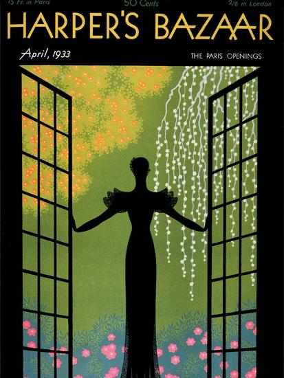 Harper's Bazaar, April 1933--Premium Giclee Print