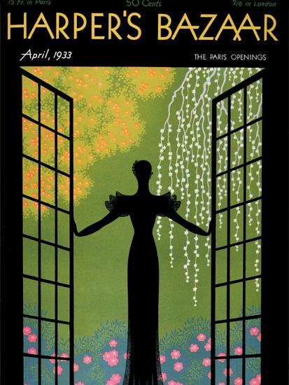 Harper's Bazaar, April 1933--Art Print