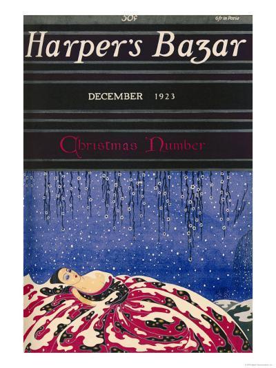Harper's Bazaar, December 1923--Art Print