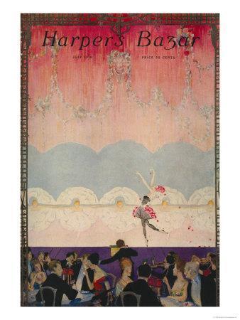 Harper's Bazaar, July 1916--Art Print