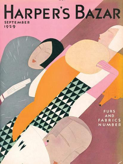 Harper's Bazaar, September 1929--Art Print