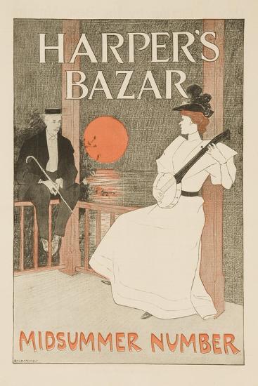 Harper's Bazar Midsummer Number Poster--Giclee Print