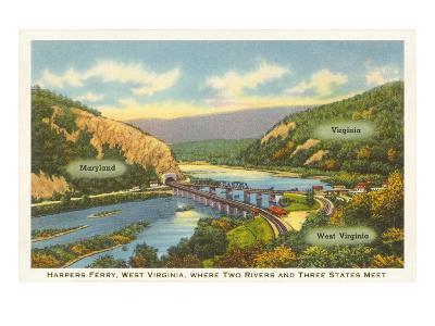 Harper's Ferry, West Virginia--Art Print
