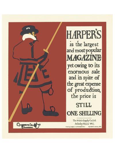 Harper's Magazine, c.1895--Art Print