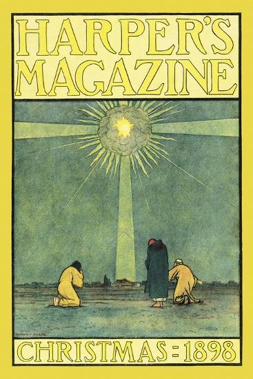 Harper's Magazine, Christmas 1898-Harvey Ellis-Art Print