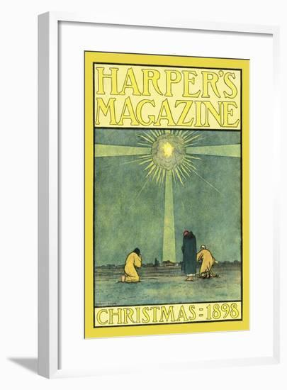Harper's Magazine, Christmas 1898-Harvey Ellis-Framed Art Print