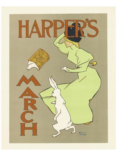 Harper's Magazine, March 1894-Edward Penfield-Premium Giclee Print