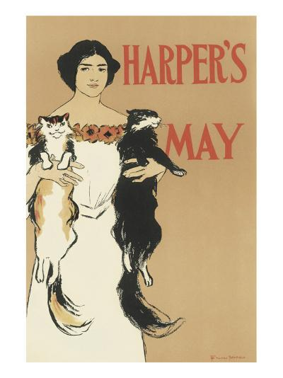 Harper's Magazine, May 1897-Edward Penfield-Premium Giclee Print