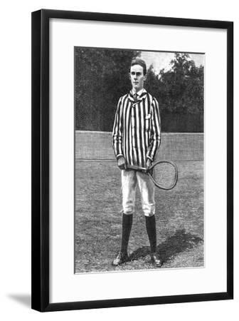 Harper's Weekly Tennis III--Framed Art Print