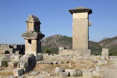 Harpy Monument and Lycian Tomb-Stuart Black-Photographic Print