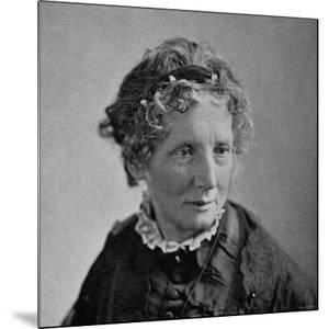 "Harriet Beecher Stowe, American Novelist and Humanitarian, Author of ""Uncle Tom's Cabin."""
