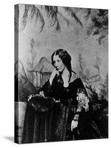 "Harriet Beecher Stowe, American Novelist and Humanitarian, Author of ""Uncle Tom's Cabin"""