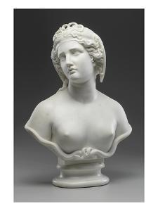 Medusa, 1854 (Marble) by Harriet Hosmer