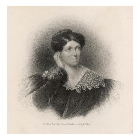 Harriet Martineau Writer and Social Commentator--Giclee Print