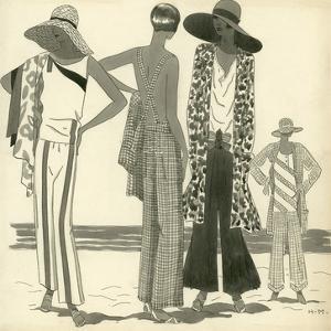 Vogue - June 1929 by Harriet Meserole
