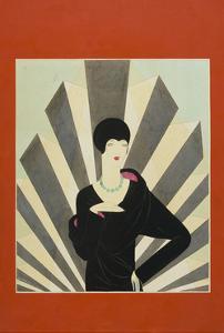 Vogue - March 1927 by Harriet Meserole