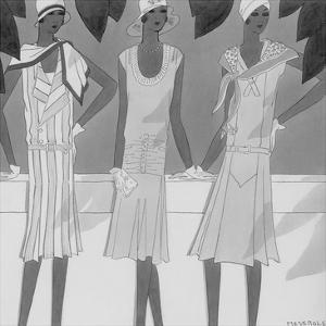 Vogue - May 1929 by Harriet Meserole
