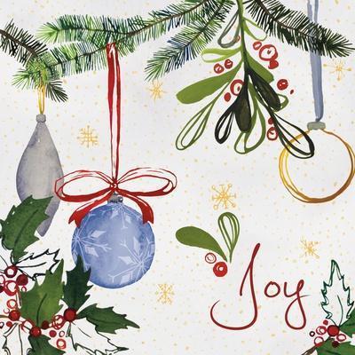 Watercolor Christmas I