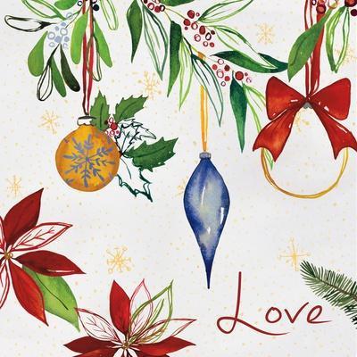 Watercolor Christmas II