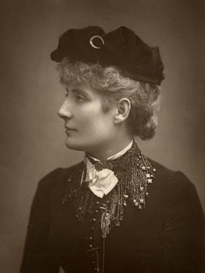 Harriett Jay, British Author and Playwright, 1888-Ernest Barraud-Photographic Print