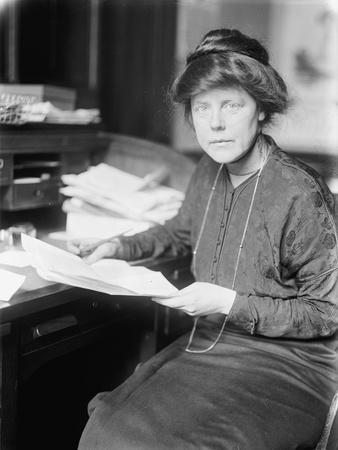 Lucy Burns, 1913