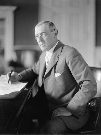 Woodrow Wilson, c.1913