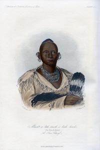 Muck-A-Tah-Mish-O-Kah-Kaik, the Black Hawk, a Sac Chief, 1848 by Harris