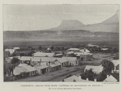 Harrismith, Orange Free State, Captured by Macdonald on 4 August--Giclee Print
