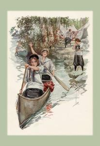 Paddling Their Own Canoe by Harrison Fisher