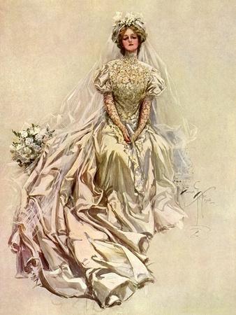 Pensive Bride, 1908