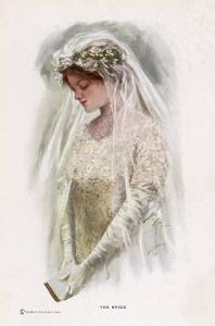 The Bride by Harrison Fisher