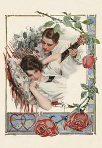 The Serenade by Harrison Fisher