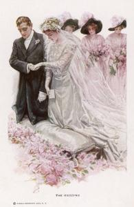 The Wedding Ceremony by Harrison Fisher