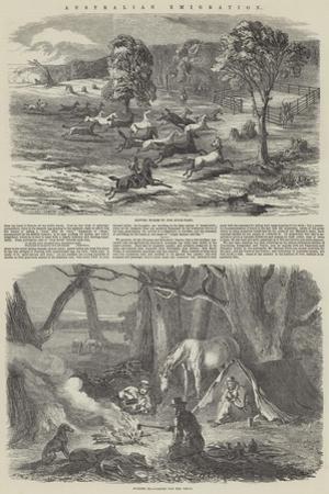 Australian Emigration by Harrison William Weir