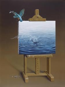 European Kingfisher by Harro Maass