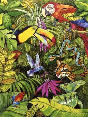 Tropical Scenery by Harro Maass