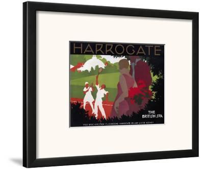 Harrogate, the British Spa--Framed Art Print