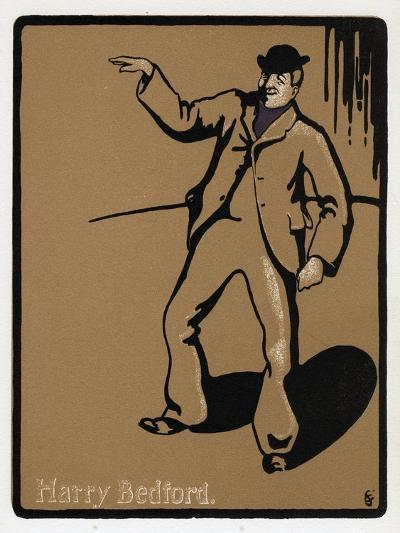 Harry Bedford, Theatre Performer, Late 19th Century--Giclee Print