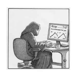 Death orders online - Cartoon by Harry Bliss