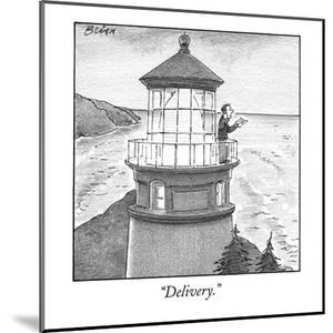 """""""Delivery."""" - New Yorker Cartoon by Harry Bliss"""