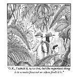 The New Yorker Cover - November 1, 1999-Harry Bliss-Premium Giclee Print
