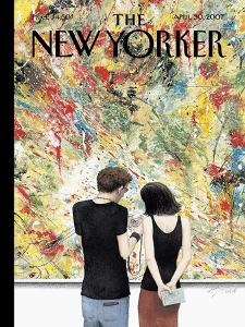 The New Yorker Cover - April 30, 2007 by Harry Bliss