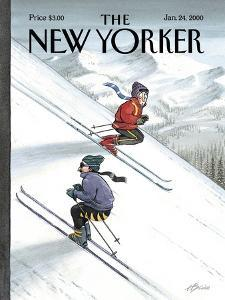 The New Yorker Cover - January 24, 2000 by Harry Bliss