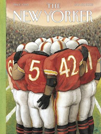 The New Yorker Cover - January 27, 2003