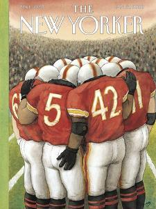 The New Yorker Cover - January 27, 2003 by Harry Bliss