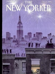 The New Yorker Cover - July 5, 1999 by Harry Bliss