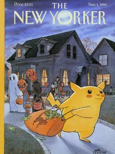 The New Yorker Cover - November 1, 1999 by Harry Bliss